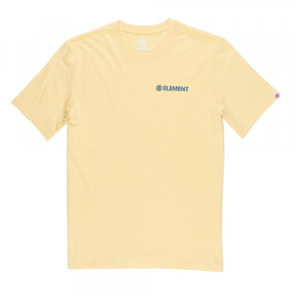 ELEMENT T-SHIRT BLAZIN CHEST SS MINERAL YELLOW F19