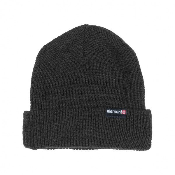 ELEMENT CEPURE KERNEL BEANIE FLINT BLACK F19