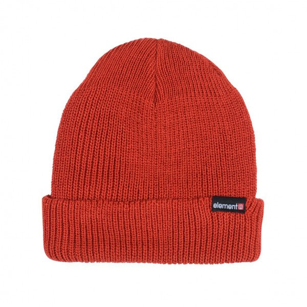 ELEMENT CEPURE KERNEL BEANIE POMPEIAN RED F19
