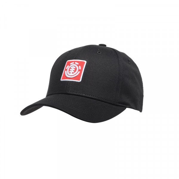 ELEMENT CEPURE TREELOGO BOY CAP FLINT BLACK F19
