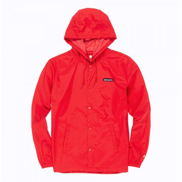 ELEMENT JAKA PRIMO ALDER HOOD COACH FIRE RED F19