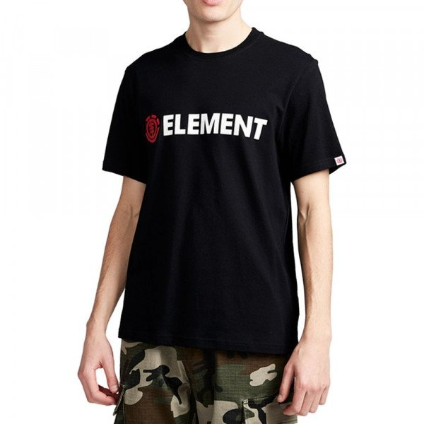 ELEMENT T-SHIRT BLAZIN SS FLINT BLACK F19