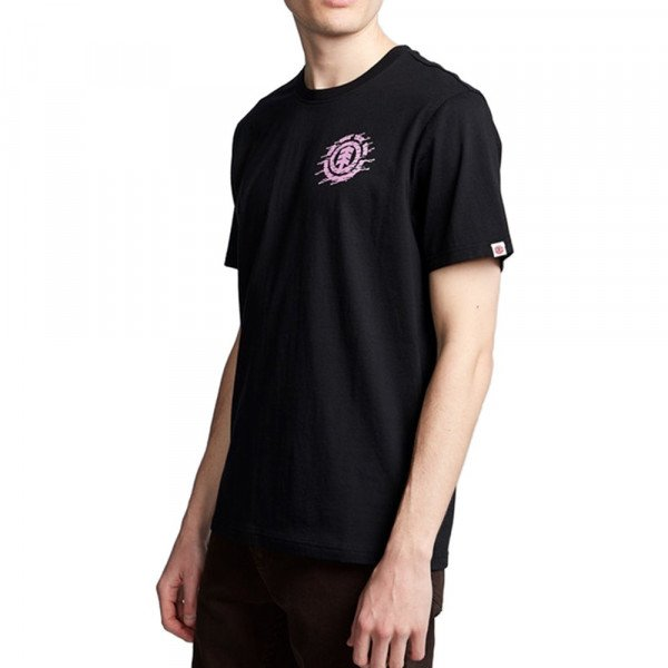 ELEMENT T-SHIRT LIQUID ICON SS FLINT BLACK F19