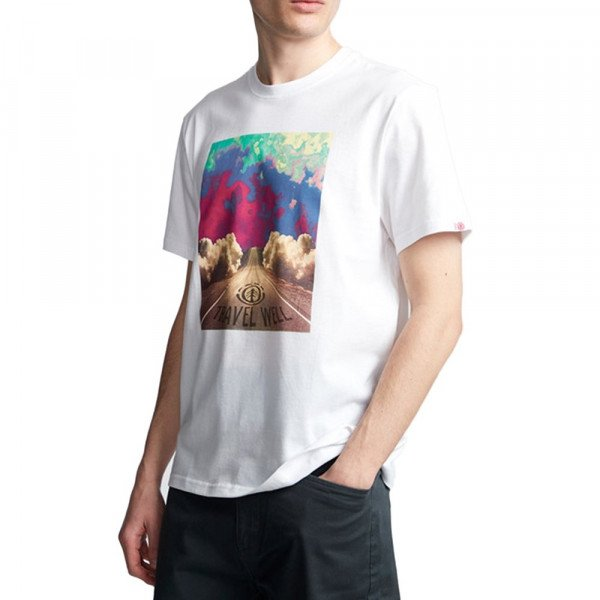 ELEMENT T-SHIRT LUSH SS OPTIC WHITE F19