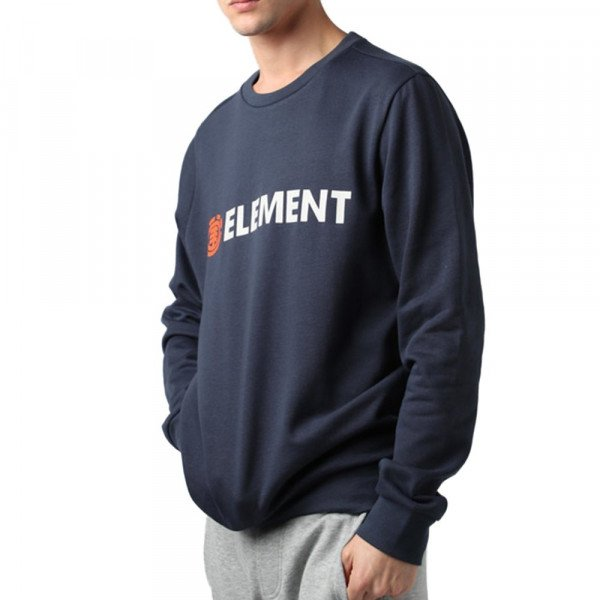 ELEMENT HOOD BLAZIN CREW ECLIPSE NAVY F19
