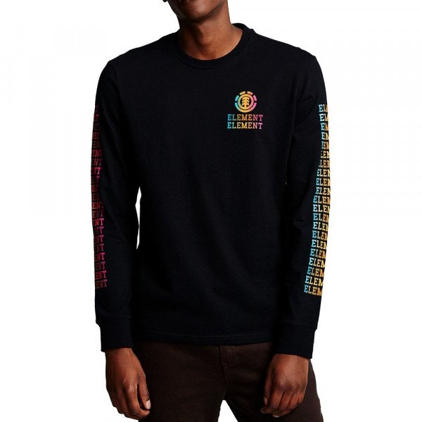 ELEMENT LONGSLEEVE DROP LS FLINT BLACK F19