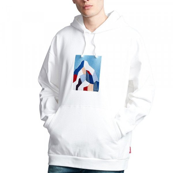 ELEMENT HOOD SD HEAVY FLEECE OPTIC WHITE F19