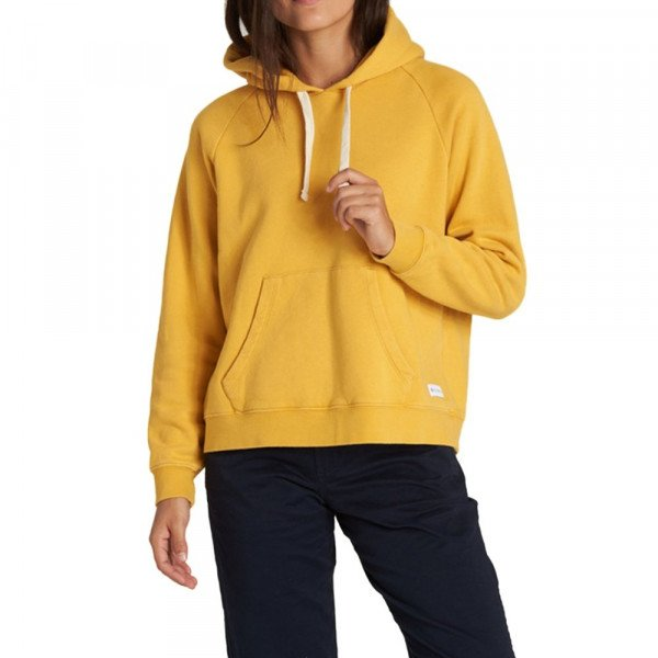 ELEMENT HOOD NEON LOGIC HOOD MINERAL YELLOW F19