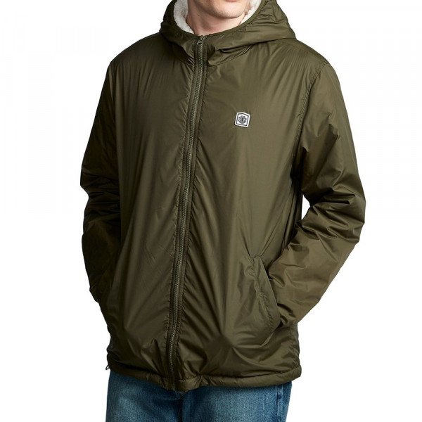 ELEMENT JACKET ELKINS ALDER SHERPA FOREST NIGHT F19
