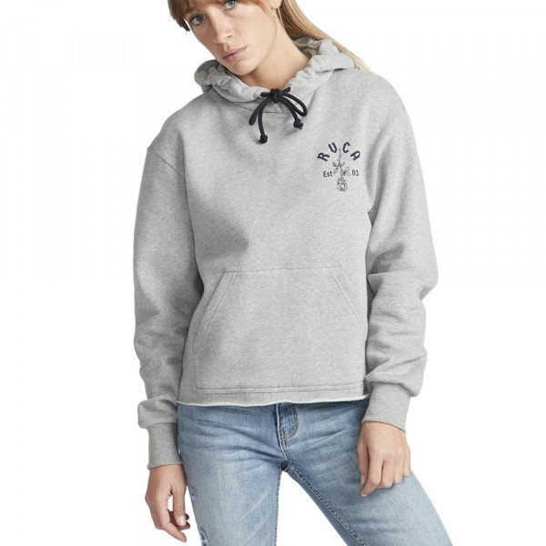 RVCA HOOD ROSIE HOODIE ATHLETIC HEATHER F19