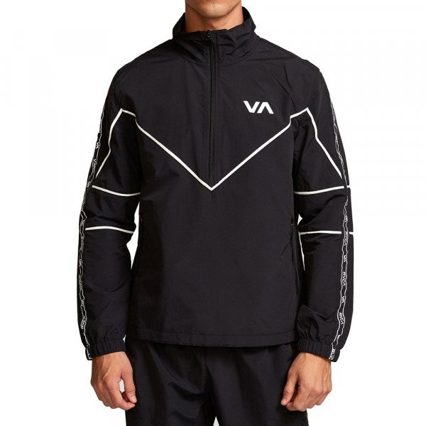 RVCA JACKET TRANSPORTER ANORAK BLACK F19