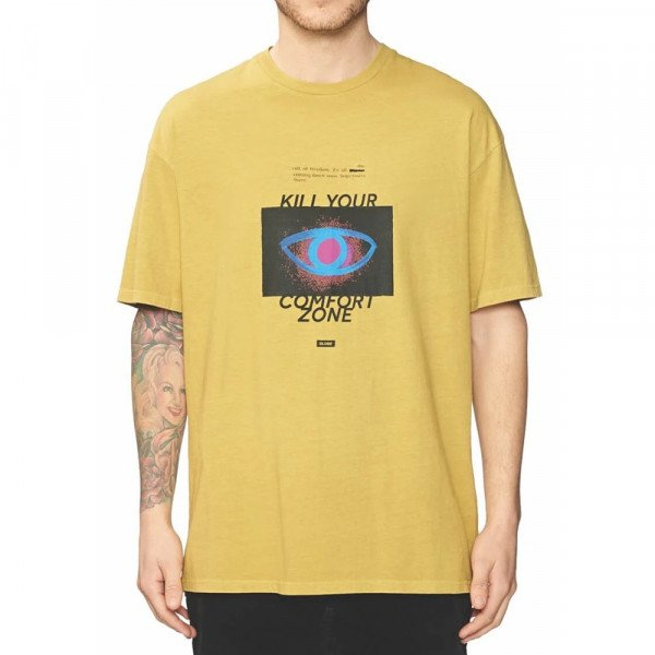 GLOBE T-SHIRT KILL YOUR COMFORT ZONE TEE PIGMENT CURRY F19