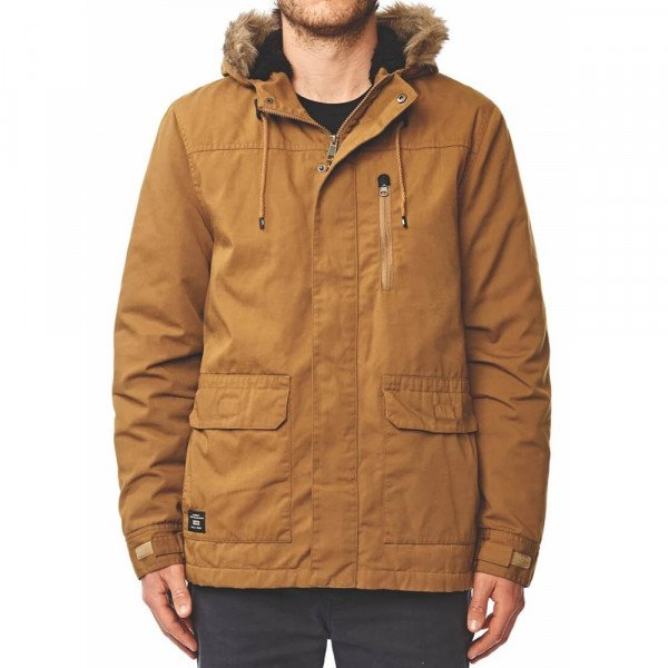 GLOBE JAKA MISSION THERMAL PARKA PECAN F19