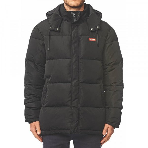 GLOBE JAKA IGNITE PUFFER JACKET BLACK F19