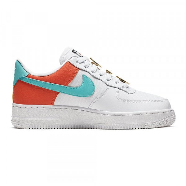 NIKE APAVI AIR FORCE 1 '07 SE W WHITE LIGHT AQUA F19