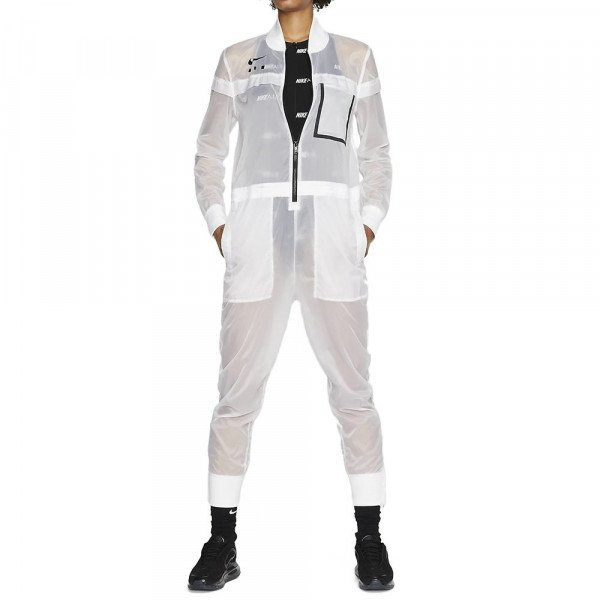 NIKE BIKSES NSW JUMPSUIT FTR AIR W WHITE BLACK