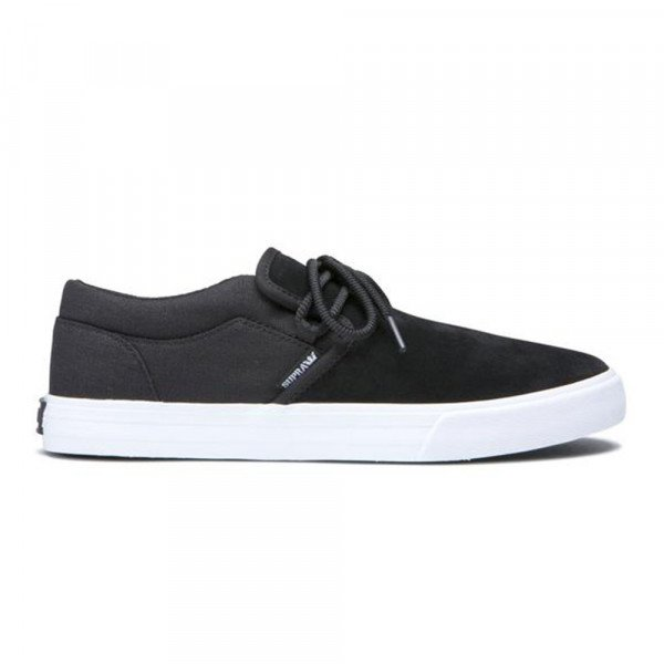 SUPRA SHOES CUBA BLACK WHITE F19