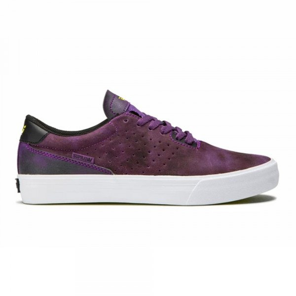 SUPRA SHOES LIZARD TIE DYE WHITE F19