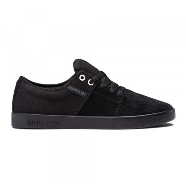 SUPRA SHOES  STACKS II BLACK F19