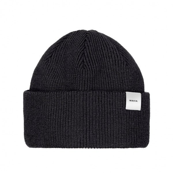 MAKIA CEPURE MERINO THIN CAP BLACK F19