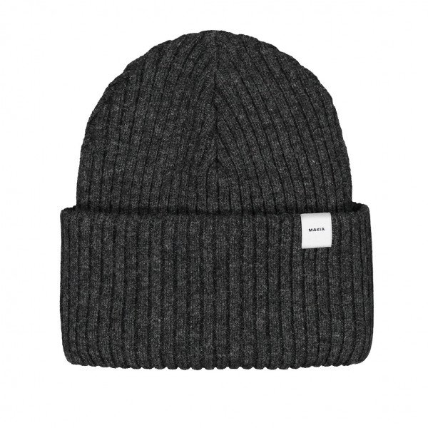MAKIA CEPURE DEAL BEANIE DARK GREY F19