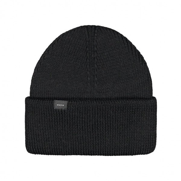 MAKIA CEPURE CENTRAL BEANIE BLACK F19