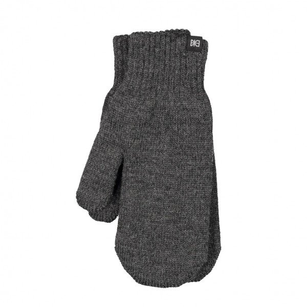 MAKIA CIMDI WOOL MITTENS GREY F19
