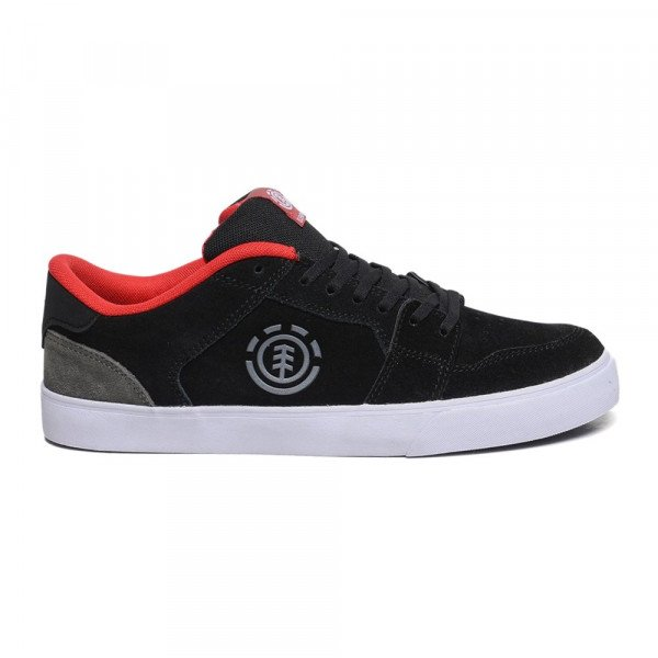 ELEMENT SHOES HEATLEY BLACK RED F19