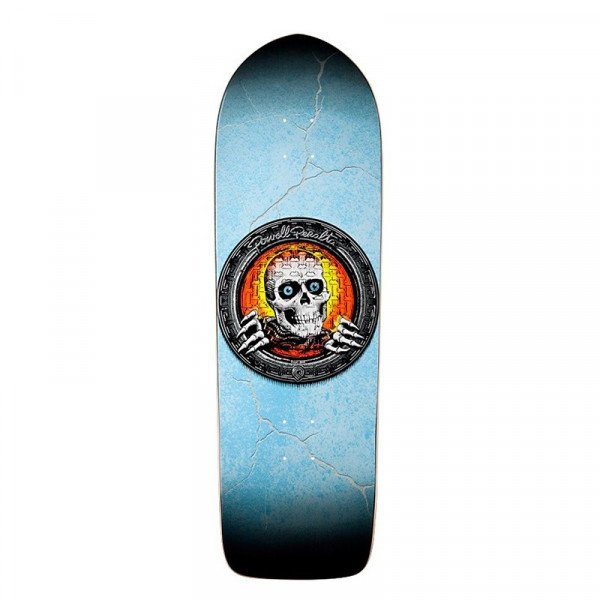 POWELL PERALTA DECK POOL LIGHT RIPPER BLUE ORANGE STAIN 10