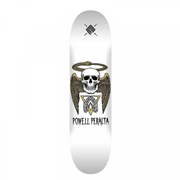 POWELL PERALTA DECK HALO SNAKE WHITE 8.5