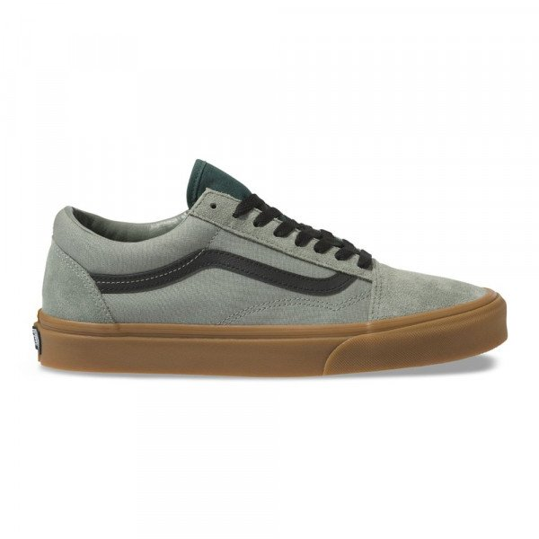 VANS SHOES OLD SKOOL (GUM) SHADOW TREKKING GREEN F19