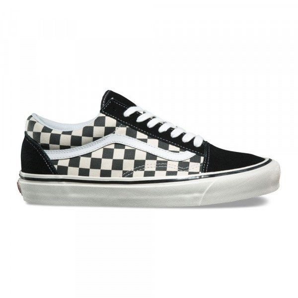 VANS APAVI OLD SKOOL 36 DX (ANAHEIM FACTORY) BLACK CHECK F19