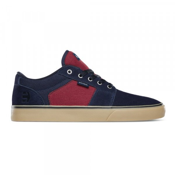 ETNIES SHOES BARGE LS NAVY RED GUM F19