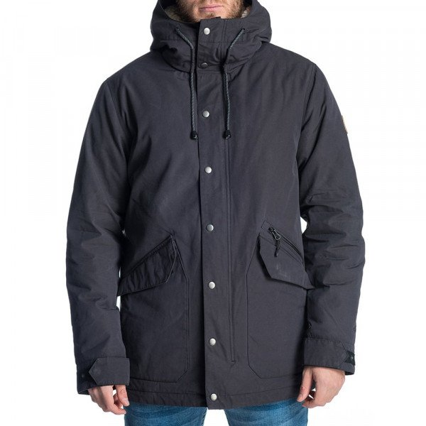RIP CURL JACKET WAX ON ANTI-SERIES JACKET BLACK F19