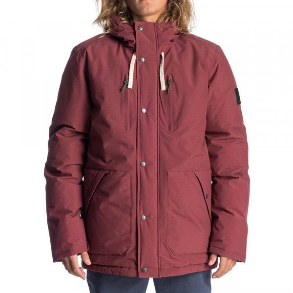 RIP CURL JACKET GNARLY ANTI-SERIES JACKET MAROON F19