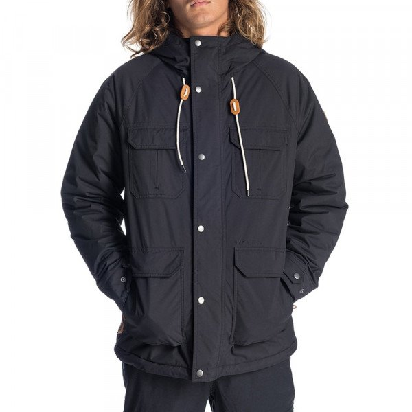 RIP CURL JAKA SABOTAGE ANTI-SERIES JACKET BLACK F19