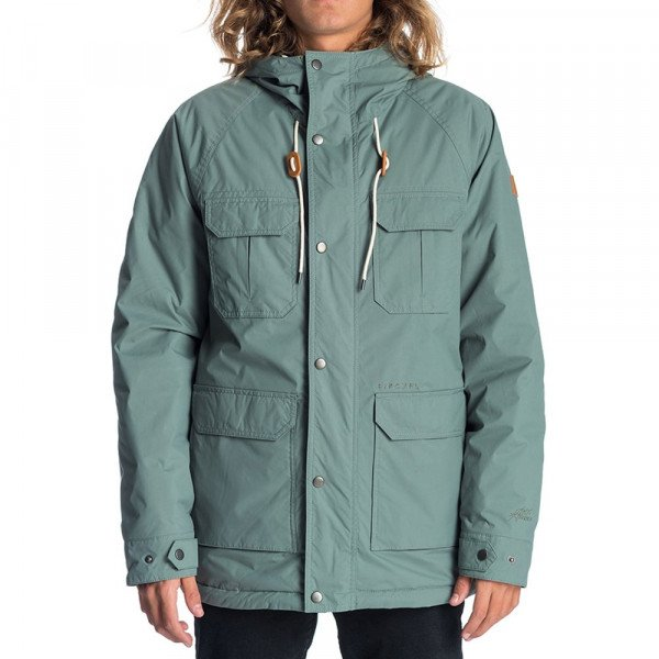 RIP CURL JAKA SABOTAGE ANTI-SERIES JACKET DARK FOREST F19
