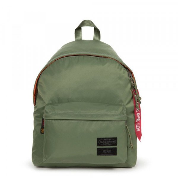 EASTPAK SOMA PADDED PAK'R ALPHA DARK GREEN