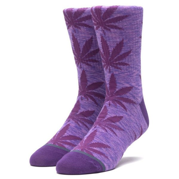HUF SOCKS MELANGE PLANTLIFE SOCKS PURPLE VELVET F19