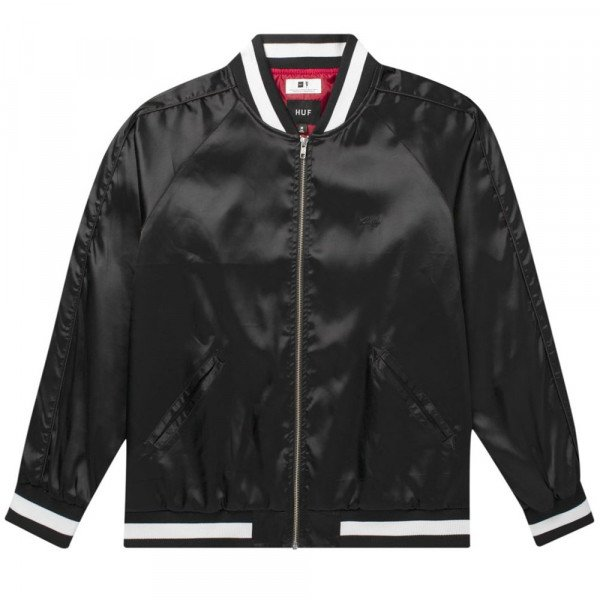 HUF JAKA CIGAR CLUB BETTY JACKET BLACK F19