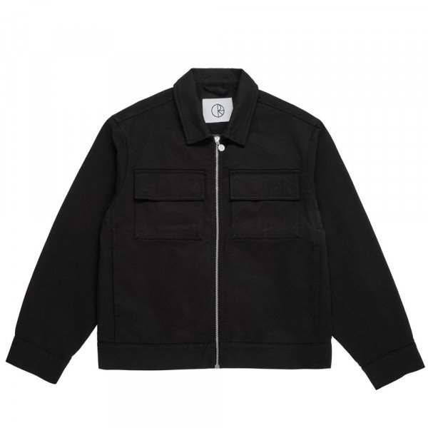 POLAR JAKA TWILL JACKET BLACK F19