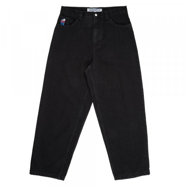 POLAR DŽINSI BIG BOY JEANS PITCH BLACK F19