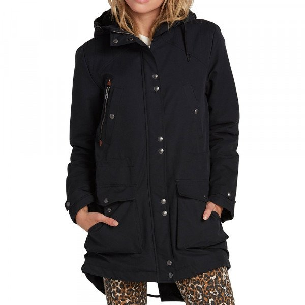 VOLCOM JAKA WALK ON BY 5K PARKA BLK F19
