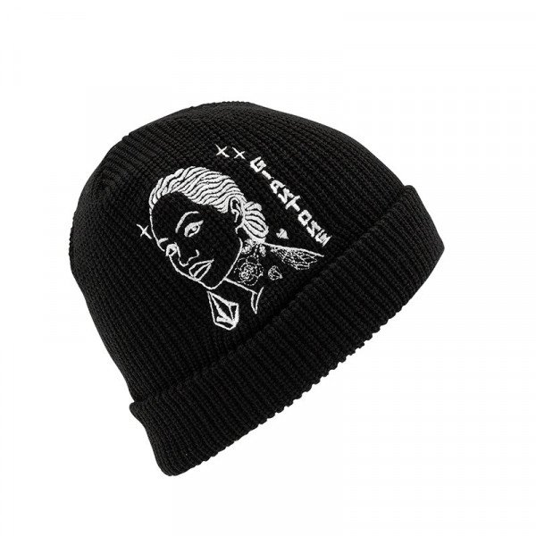 VOLCOM CEPURE MIKE GIANT BEANIE BLK F19
