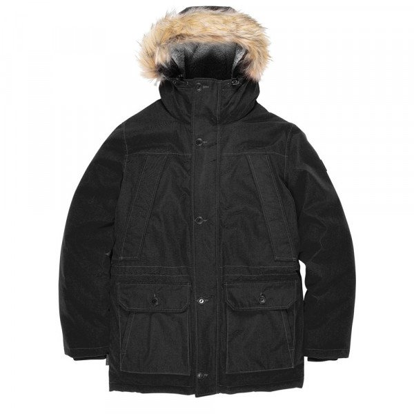 ELEMENT JAKA EXPLORER PARKA FLINT BLACK F19