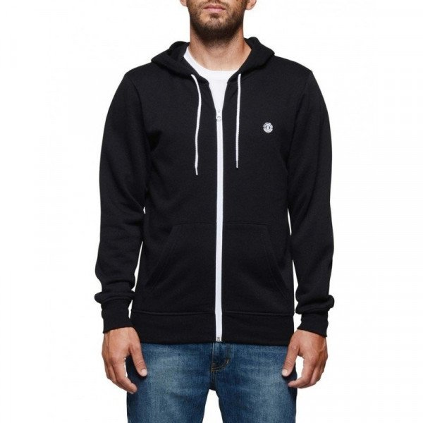 ELEMENT ZIP-HOOD CORNELL CLASSIC ZH FLINT BLACK F19