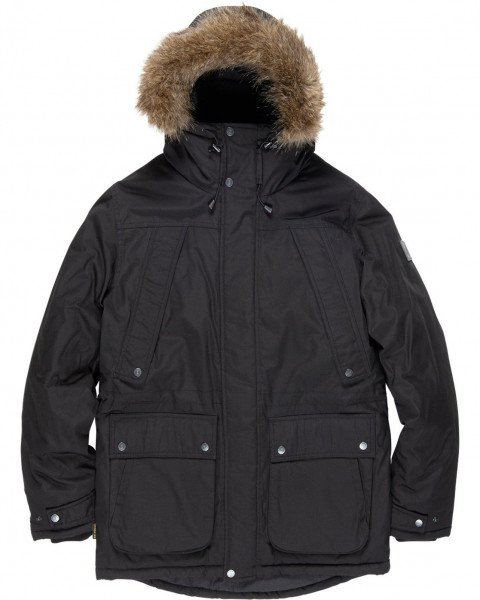 ELEMENT FARGO PARKA FLINT BLACK F19