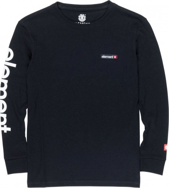 ELEMENT LONGSLEEVE PRIMO LS CR FLINT BLACK F19