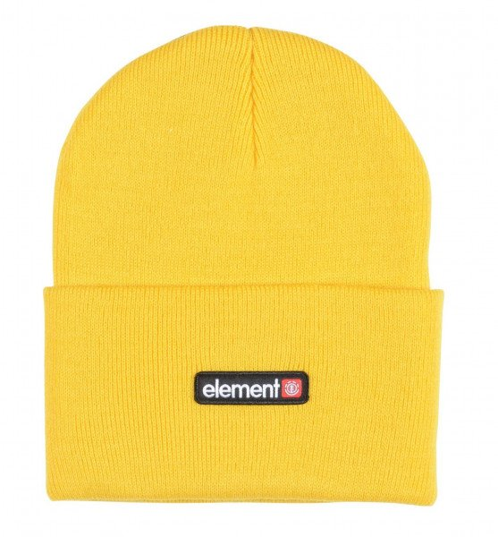 ELEMENT PRIMO DUSK BEANIE BRIGHT YELLOW F19