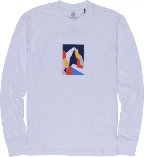 ELEMENT LONGSLEEVE SD LS TEE OPTIC WHITE F19